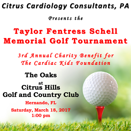 Citrus Cardiology Consultants P.A. Golf Tournament Event