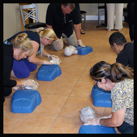 Woodlawn Community Academy - CPR Training Event